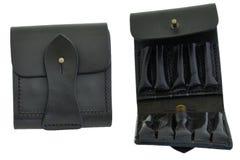 Hunter rifle ammo ammunition belts & bandoliers. Hunter rifle ammo ammunition belts & bandoliers Royalty Free Stock Image