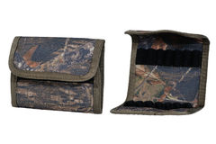 Hunter rifle ammo ammunition belts & bandoliers, two items. Hunter rifle ammo ammunition belts & bandoliers Royalty Free Stock Image