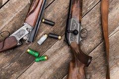 Hunter's ammunition Stock Image