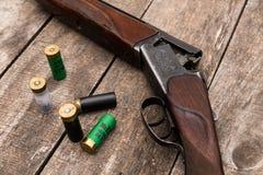 Hunter's ammunition Royalty Free Stock Photo