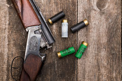 Hunter's ammunition Stock Photos
