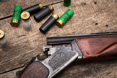 Hunter's ammunition Royalty Free Stock Photos