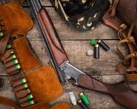 Hunter's ammunition Royalty Free Stock Photography
