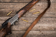 Hunter's ammunition Royalty Free Stock Photos