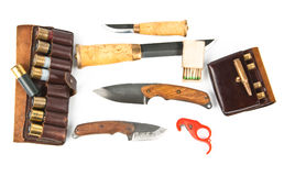 Hunter's equipment royalty free stock photography