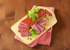 Hunter's salami Stock Photos