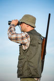 Hunter With Shotgun Royalty Free Stock Photo
