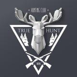 Hunter socirty elk Royalty Free Stock Photos