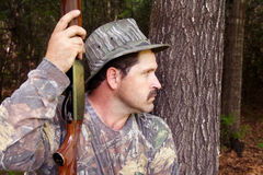 Hunter - Sportsman. Hunter - Hunting stock photo