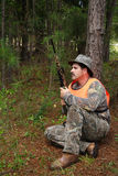 Hunter - Sportsman. Hunter - Hunting stock photo