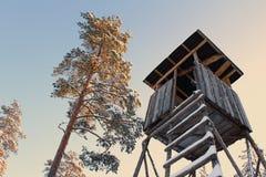 Hunter tower, sunset Royalty Free Stock Image