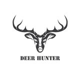 Hunter vector design template Royalty Free Stock Images