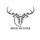 Hunter vector design template Stock Images