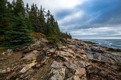 Hunters head coast stock photography