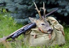 Hunters success Stock Photos