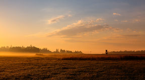 Free Hunters Tower On The Empty Field Stock Photos - 32893363