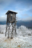 Hunters tower in the valley. Royalty Free Stock Photography