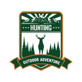 Hunting and adventure icon for sporting design Stock Photo