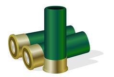 Hunting ammunition. The illustration on a white background stock illustration