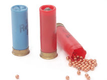 Hunting ammunition Stock Photography