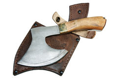 The hunting axe Stock Photography