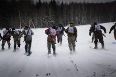 Hunting Biathlon Stock Images