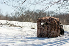 Hunting Blind Stock Images