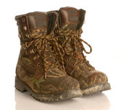 Hunting boots Royalty Free Stock Images