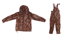 Hunting Camouflage Jacket And Trousers Stock Image