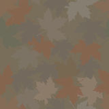 Hunting camouflage Maple Forest. Royalty Free Stock Image