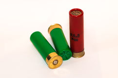 Hunting cartridge Stock Images
