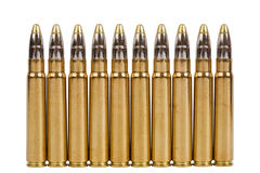 Hunting cartridges Royalty Free Stock Photo
