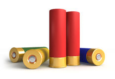 Hunting cartridges Royalty Free Stock Image