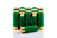 Hunting cartridges for shotgun Royalty Free Stock Image