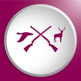 Hunting club logo icon Stock Photo