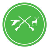 Hunting club logo icon Stock Images