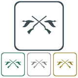 Hunting club logo icon Stock Photos