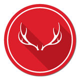 Hunting club logo icon Royalty Free Stock Photography