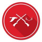 Hunting club logo icon Royalty Free Stock Photos