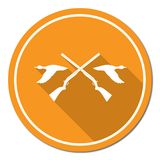 Hunting club logo icon Royalty Free Stock Photo