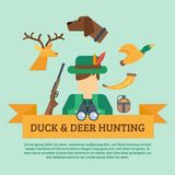 Hunting Concept Illustration Royalty Free Stock Images
