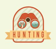 Hunting design Royalty Free Stock Photos
