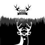 Hunting design Stock Images