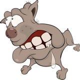 The hunting dog. Boxer. Cartoon Stock Photos