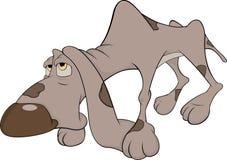 The hunting dog. Cartoon Stock Photography