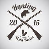 Hunting Emblem Stock Photos
