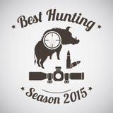 Hunting Emblem Royalty Free Stock Image