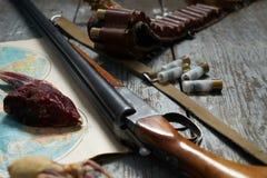 Hunting equipment Stock Image