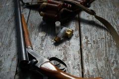 Hunting equipment Stock Photography