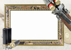 Hunting frame for photo Royalty Free Stock Photography